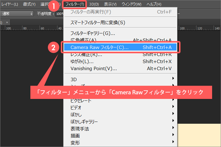 photoshop Camera-Rawフィルターjpg